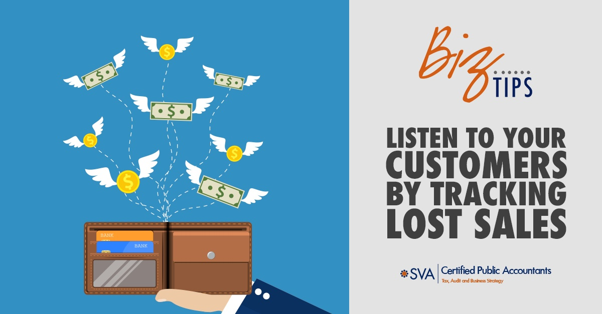 Listen to Your Customers by Tracking Lost Sales