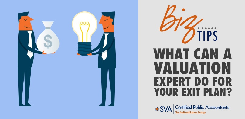 What Can a Valuation Expert Do for Your Exit Plan?