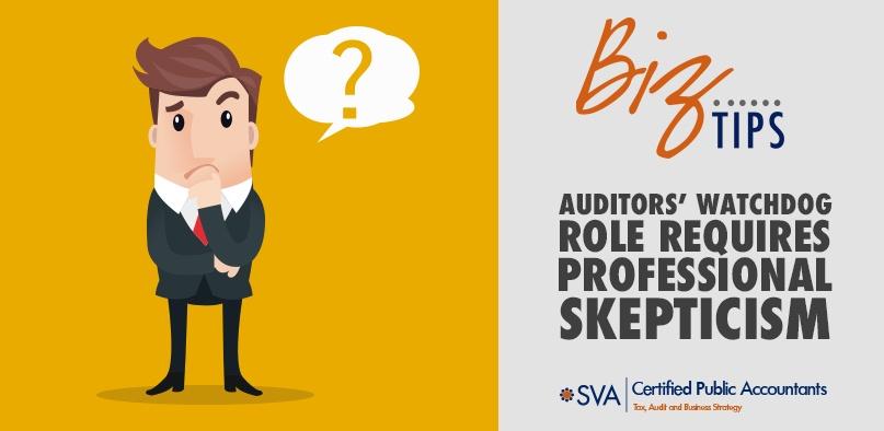 Auditors' Watchdog Role Requires Professional Skepticism