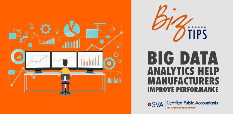 Big Data Analytics Help Manufacturers Improve Performance