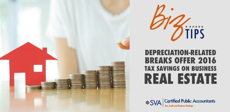 Depreciation-Related Breaks Offer 2016 Tax Savings on Business Real Estate