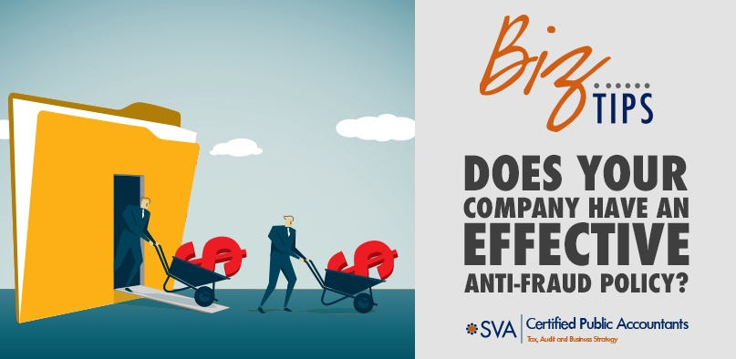 Does Your Company Have an Effective Anti-Fraud Policy?