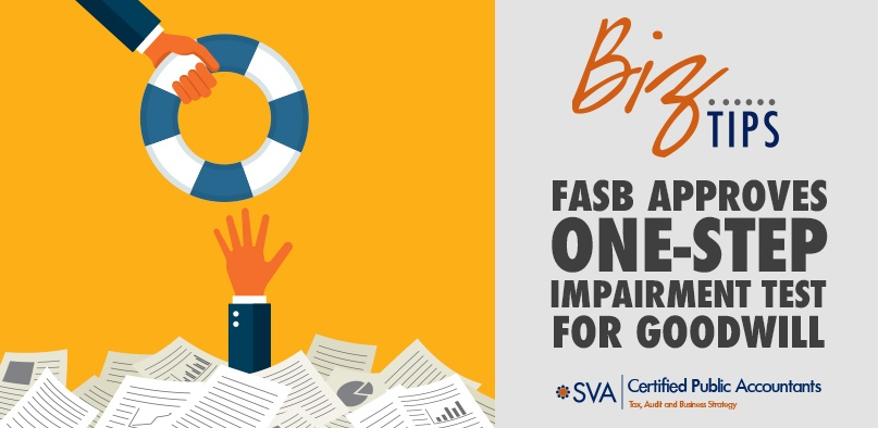FASB Approves One-Step Impairment Test for Goodwill