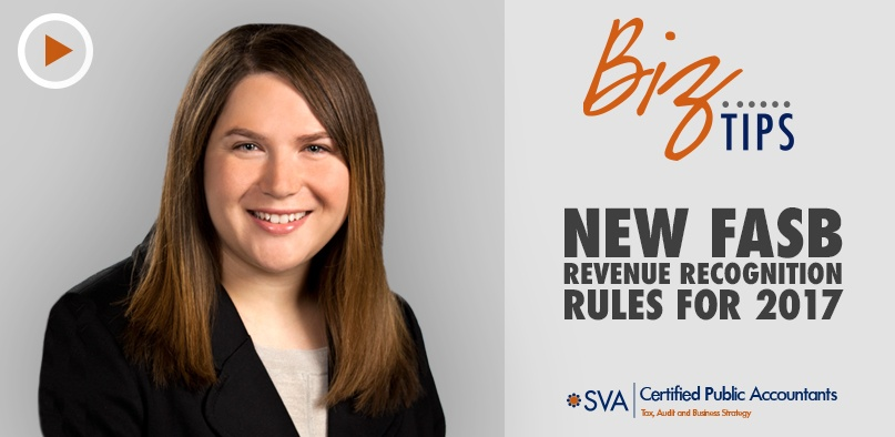 New FASB Revenue Recognition Rules for 2017