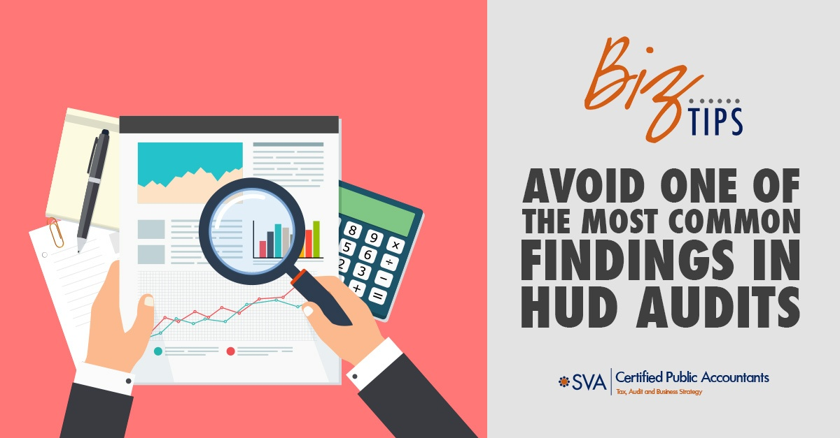 Avoid One of the Most Common Findings in HUD Audits