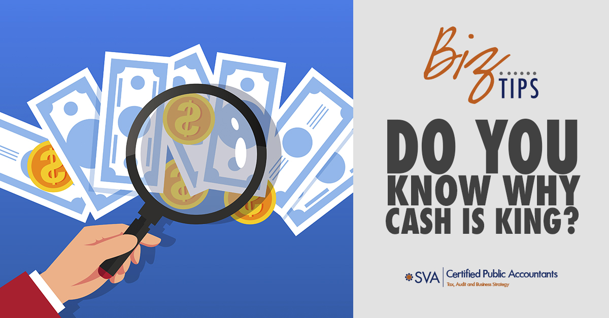 Do You Know Why Cash Is King?