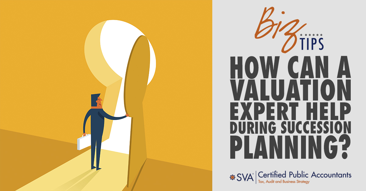 How Can A Valuation Expert Help During Succession Planning?