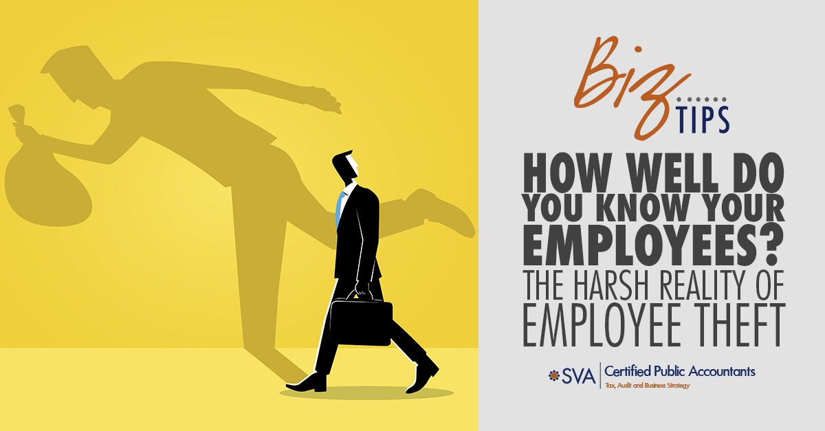 How Well Do You Know Your Employees? The Harsh Reality of Employee Theft