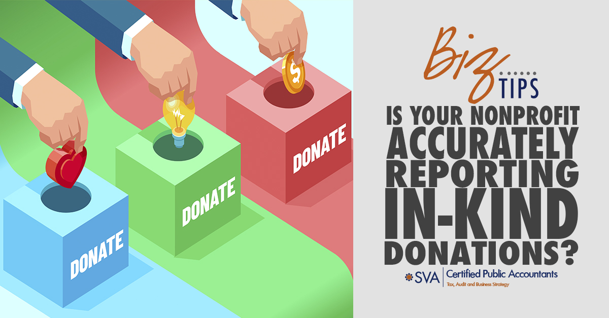 Is Your Nonprofit Accurately Reporting In-Kind Donations?