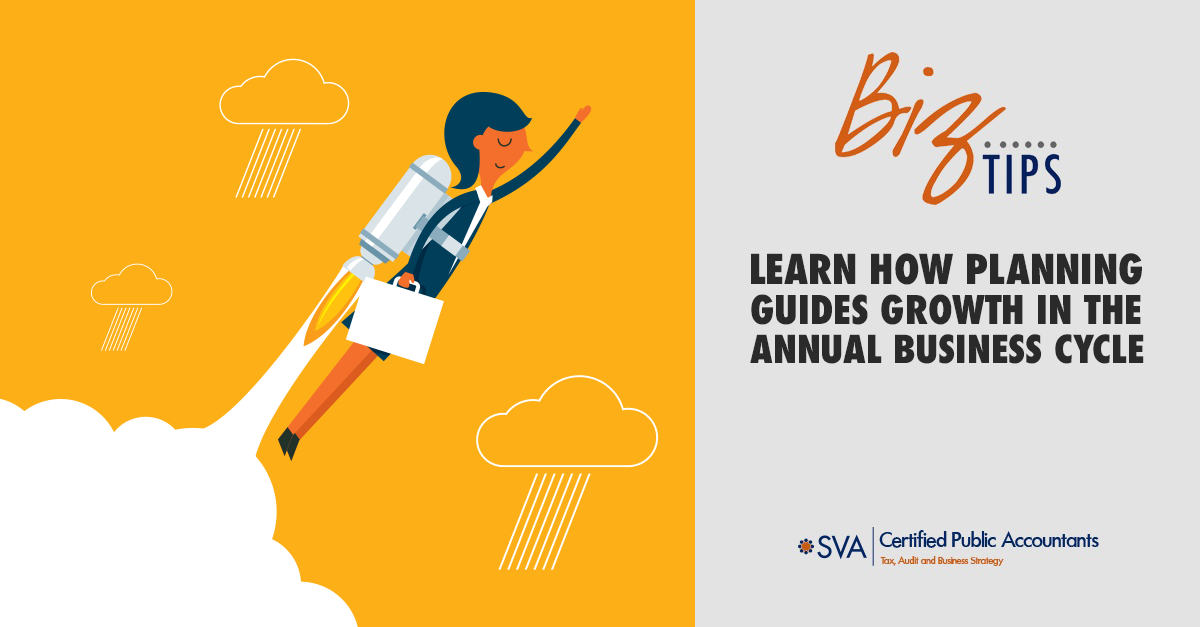 Learn How Planning Guides Growth in the Annual Business Cycle