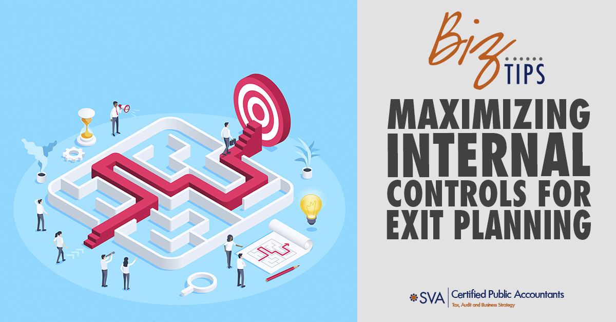 Maximizing Internal Controls for Exit Planning