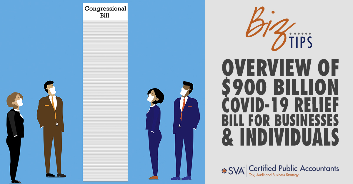 Overview of $900 Billion COVID-19 Relief Bill for Businesses & Individuals