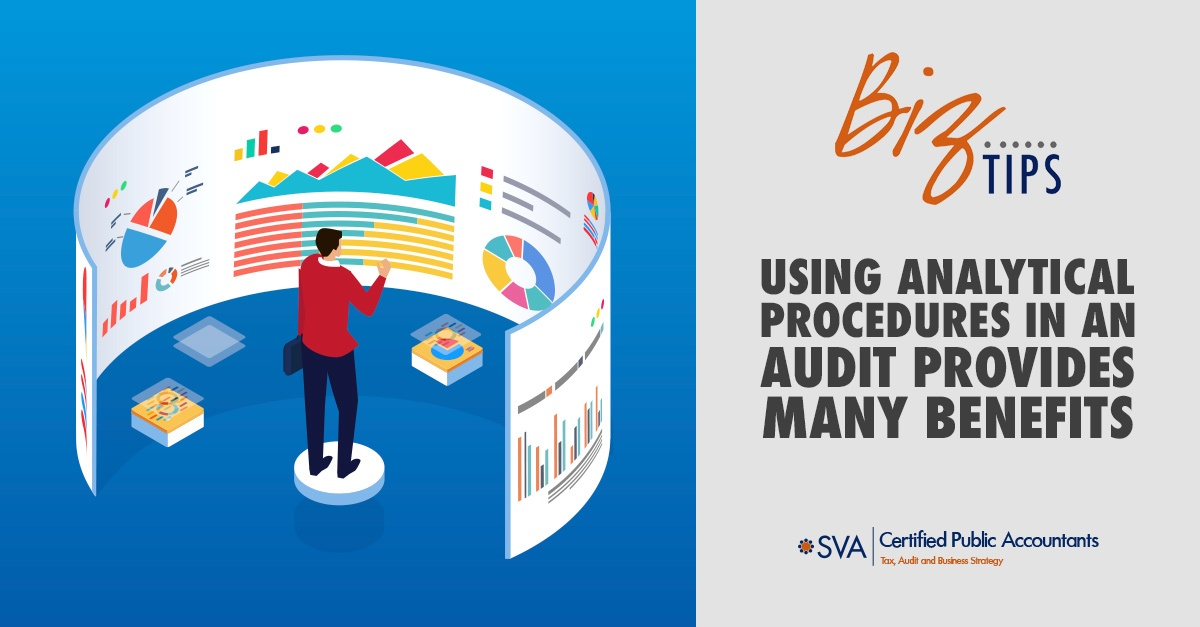 Using Analytical Procedures in an Audit Provides Many Benefits