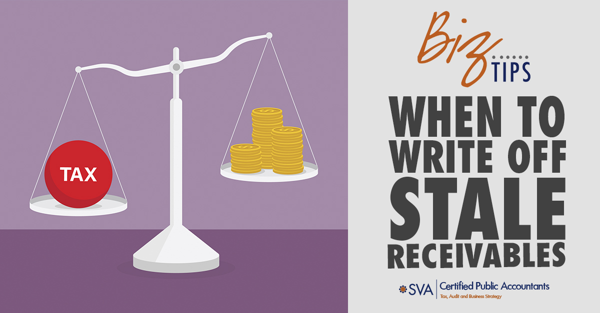 When to Write off Stale Receivables